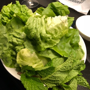 lettuce and mint