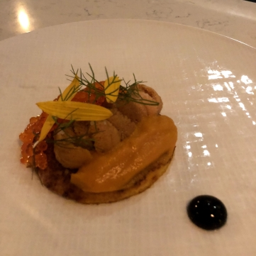 racines nyc uni smoked carrot blini