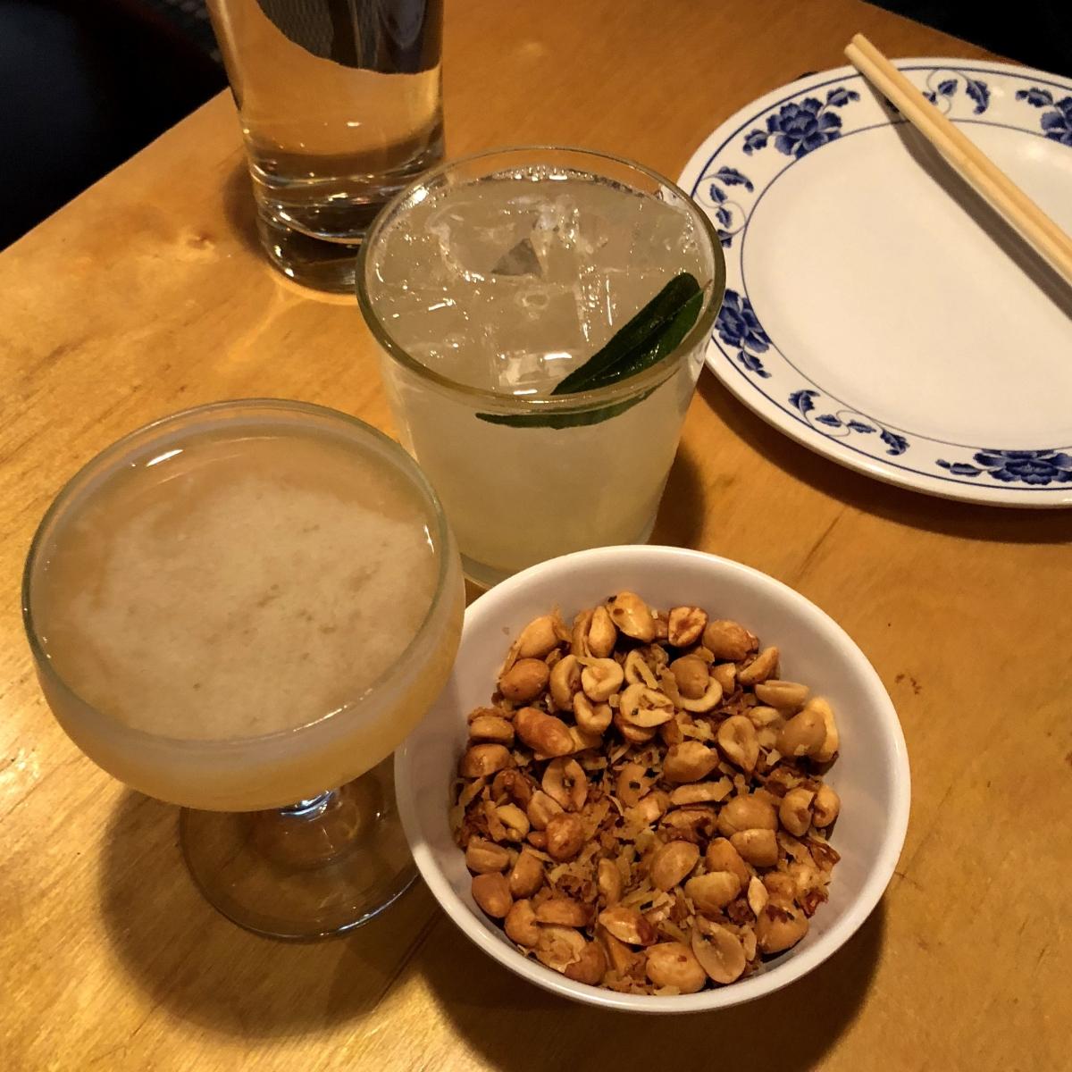 pig and khao peanuts baboy daiquiri rum & hyde