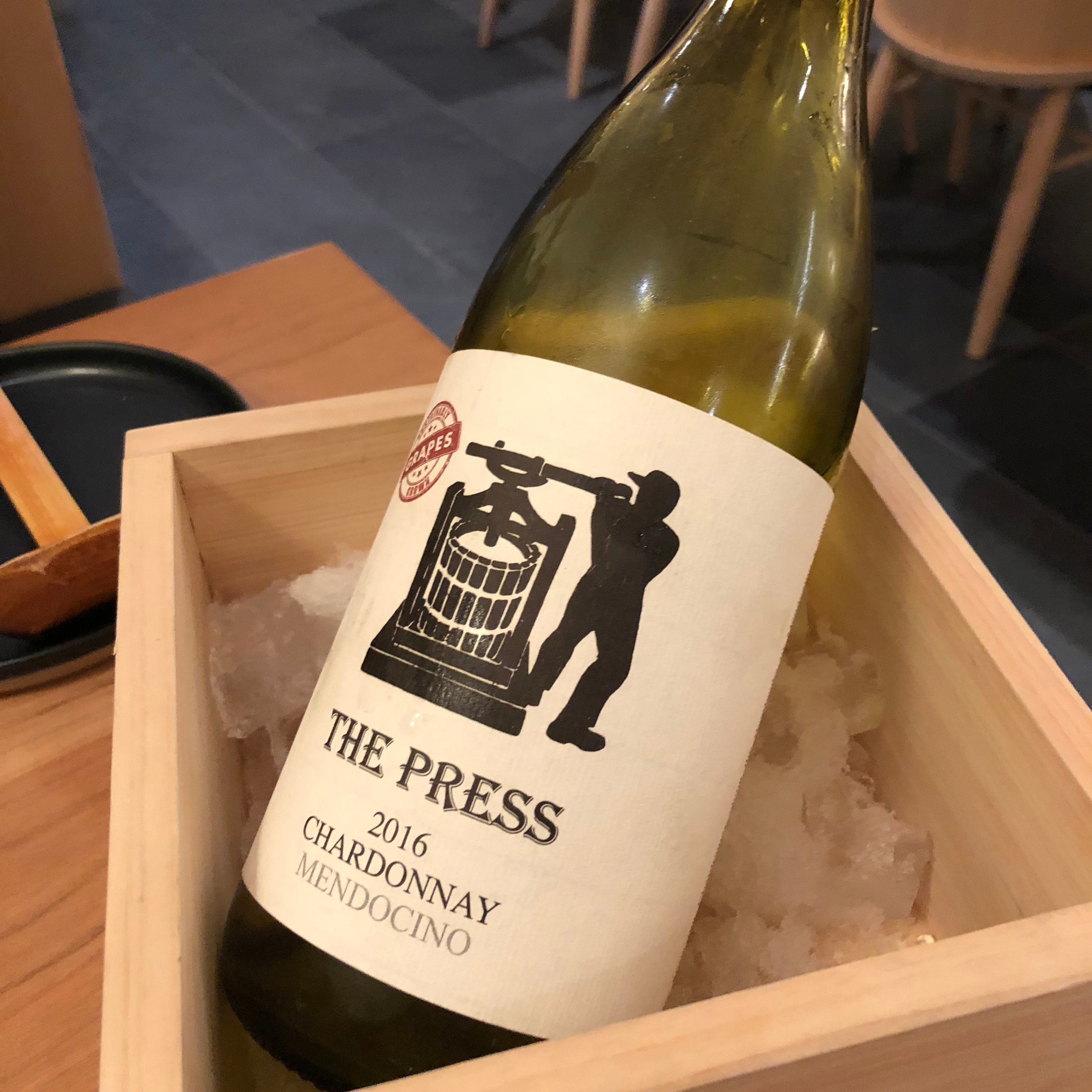 raku the press chardonnay