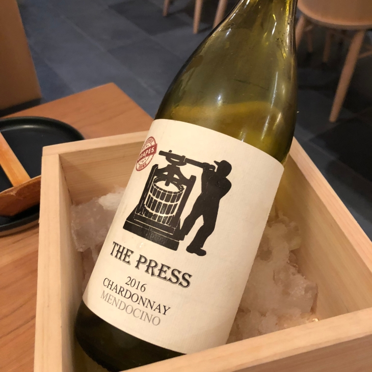 raku the press chardonnay